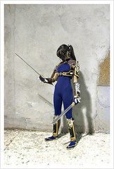 Taki - Soul Calibur (Maria de Menicucci) Tags: game costume fight cosplay soul videogame cosplayer hdr taki soulcalibur calibur