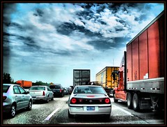 traffic jam - by K2D2vaca