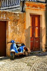 Italian ruins in Rhodes - by la_febbra