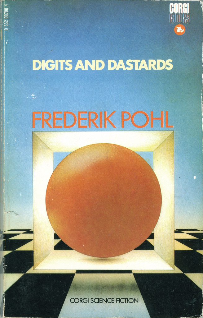 Most Coveted Covers - Digits and Dastards by Frederik Pohl