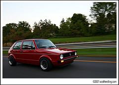 auto_r12 (scott_herdling) Tags: auto motion cars vw golf volkswagen moving automotive rig mk2 jetta gti rolling camerarig mk3 mk4 mk1 dagball