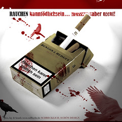 SINNLOSIGKEIT III (loehr_ralf (JUNGTIER)) Tags: red hot trash studio dead death design blood think like free it smoking clothes cover drugs shooting proof about vgel tarantino stil schn schrecklich