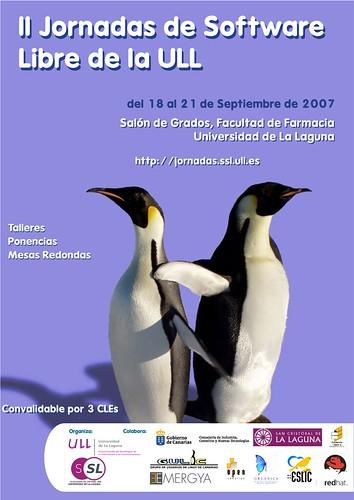 II Jornadas de Software Libre de la ULL