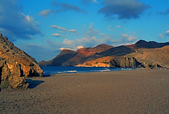 Playa de Mnsul.- (ancama_99(toni)) Tags: ocean leica trip travel blue light sunset sea vacation sky espaa sun holiday seascape color beach nature water clouds marina sunrise landscape geotagged atardecer lumix photography mar photo interestingness interesting andaluca spain agua espanha europa europe heaven mediterranean waves seascapes photos playa cel photographic andalucia panasonic explore amanecer ciel cielo sur andalusia espagne almeria ocaso almera cabodegata mediterrneo marinas marenostrum mediterrane wonderworld monsul 10faves fz7 dmcfz7 abigfave worldbest njar impressedbeauty aplusphoto holidaysvacanzeurlaub ancama99 interesantsimo fdream