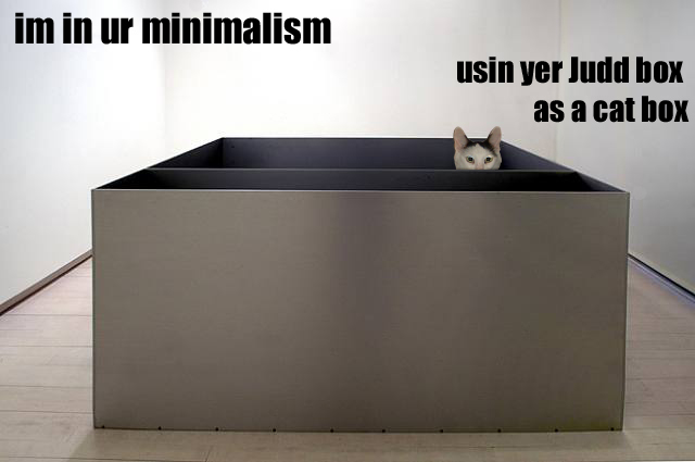 minimalist cat is minimal