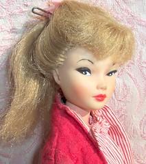 Uneeda Doll (retrokitsch) Tags: red girl vintage toy mod 60s doll barbie kitsch retro blonde 1960s clone uneeda