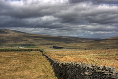 stone wall and viaduct