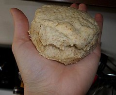 """Buttermilk"" Biscuit (JessfromMidwestVegan) Tags: vegan biscuit"