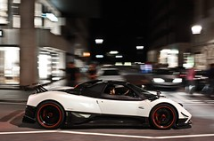 Pagani Zonda Cinque Roadster (LT800 Photography) Tags: auto london cars car cinque zonda 2010 roadster gtr pagani eor canoneos450d exoticsonroadcom