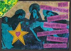 Friendship Book 1 Page 10 (testpatern) Tags: art collage pen vintage penguin book friendship mail fb stamps label pals books rubber sheets stamp labels sheet pal deco productions address penpal fbs penpals decos
