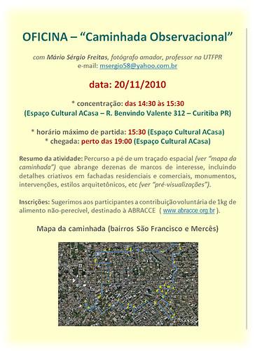 Convite-Caminhada