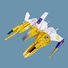 Nirinsō VV (Fredoichi) Tags: fighter lego space shooter shootemup starfighter gradius shmup vicviper novvember fredoichi nnovvember
