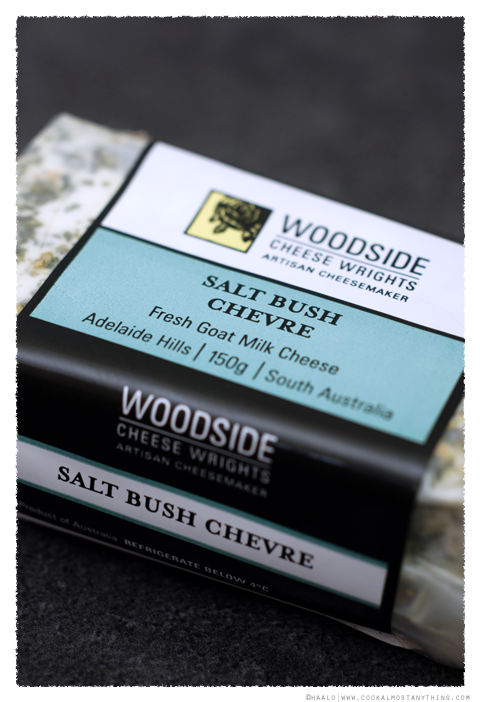 woodside cheese rights salt bush chevre© by Haalo