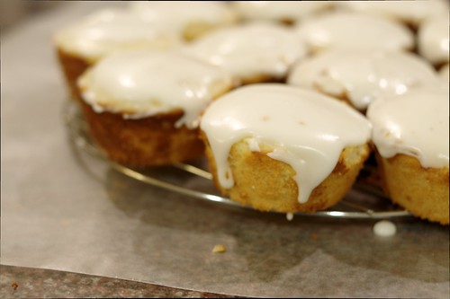 Glazed Lemon Cakes