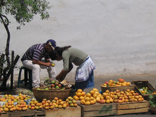 El salvador... Mangoes!!