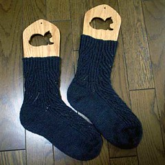 Twisted Stitch Socks