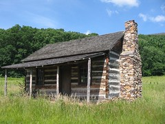 111 WV Nancy Hanks cabin