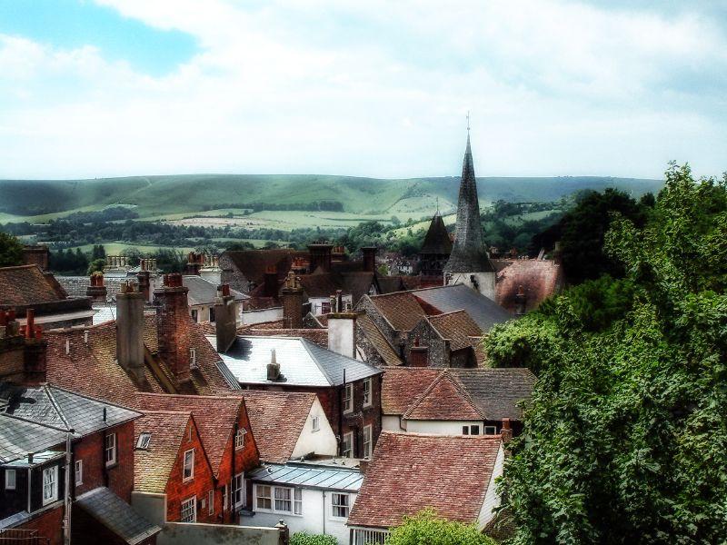 Lewes skyline