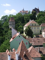 Sighisoara - view from the top of the Clock Tower