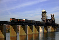 Freight over the Tennesse River - by aldo c zavala
