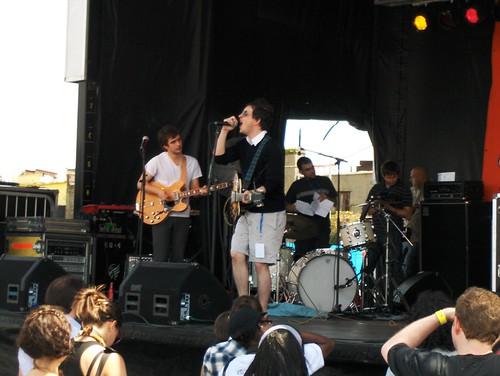 White Rabbits, Siren Festival, Coney Island NYC, 21 July 07 061