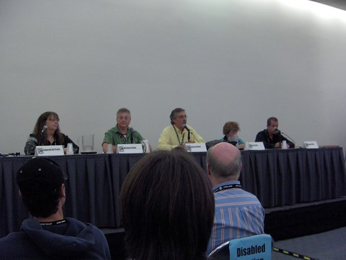 Will Eisner tribute panel