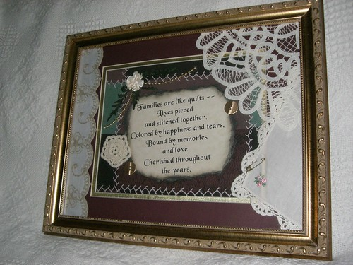 Family plaque