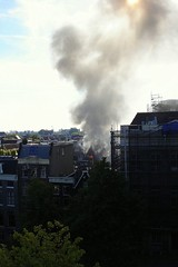 vlammen (Ed .) Tags: amsterdam fire prinsengracht brand