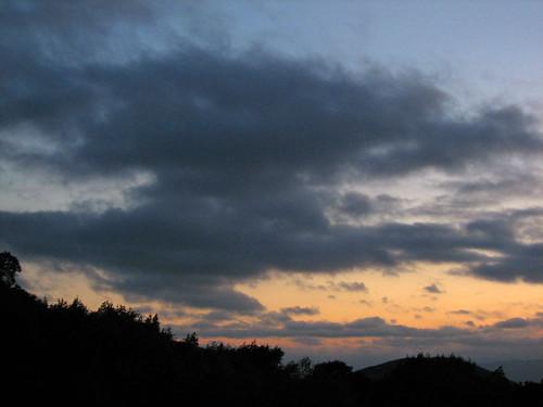 Sunset, 8/6/07