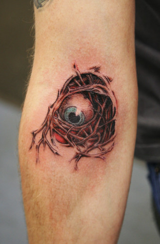 Eye Tattoo: aaaaiiiiiye Tattoo