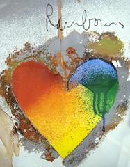heart rainbow - by zen