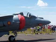 Aviones de combate.Harrier Armada. (vinylculture) Tags: espaa spain san force military air airplanes royal battle aerial exhibition f16 militar eurofighter mirage f18 javier aire combate bombing area harrier aviones bases ejercito militares cazas exhibicin bombarderos huntings sppoter