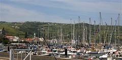 Horta - Marina Nova (moacirdsp) Tags: portugal sailboat marina explore azores 2007 horta açores faial theexploremachine ilustrarportugal explorewinnersoftheworld panoramafotográfico
