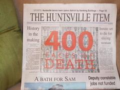 400 Murdered
