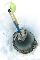 Marina Port-la-Royale (gadl) Tags: panorama marina boats boat saintmartin tripod gimp projection tiana 360° marigot stereographic hugin enblend guno mathmap stereographicprojection 303sph portlaroyale marinaportlaroyale