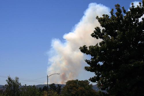Wildfire in Cupertino