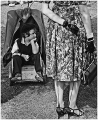 When I grow up I want to be a little boy (ro_nya) Tags: boy england stockings lady vintage wow cool nostalgia gloves 50s ponder goodwood pram 2007 goodwoodrevival 123bw ronya ronyagalka ronyagalkacom