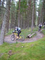 Switchback at Wolftrax in Laggan Scotland