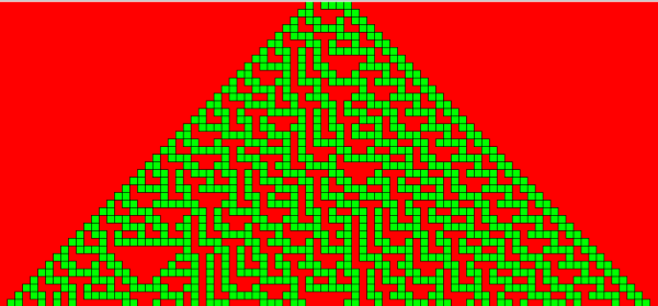 cellular automata visualy