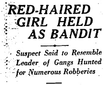 Robber Queen Headline