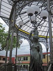 Aguada, Puerto Rico (Oquendo) Tags: plaza costa west sol public square coast puertorico porta aguada oeste fiveflickrfavs