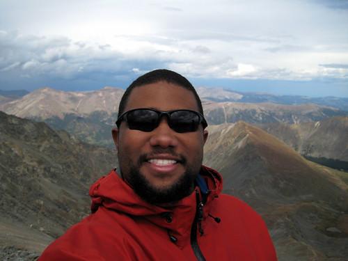 Atop Grays Peak