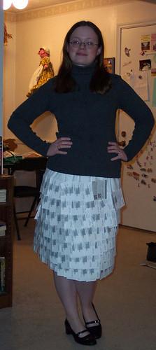 Biz Card Skirt