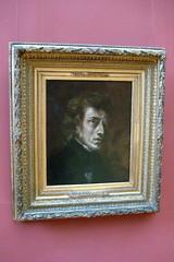 Paris - Musée du Louvre: Frédéric Chopin