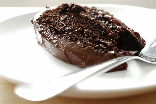 Double Chocolate Layer Cake - Life is Great
