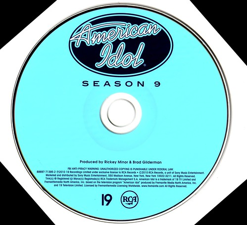 American Idol Season 9 CD Album