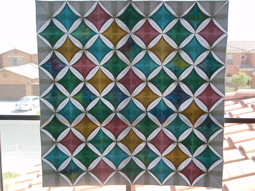 Is this why they call it a Cathedral Window Quilt?