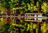 boathouse (bdaryle) Tags: autumn nature water reflections sony boathouse brandondaryle bdaryle imagesbybrandon