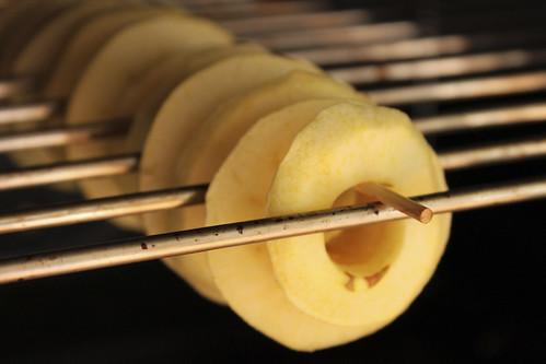 Apfel-Ringe im Backofen = Öpfelringli
