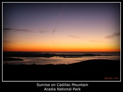 Sunrise on Cadillac Mountain (bill.lepere) Tags: morning mountain sunrise maine cadillacmountain acadianationalpark novaphoto blepere